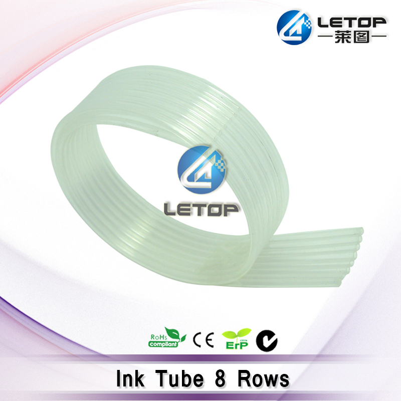 LETOP Supply UV Machine Solvent Printer 8 Rows Solvent Printer Ink Tube