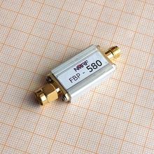 Free shipping FBP-580 580 (560~620) MHz bandpass filter, ultra small volume, SMA interface