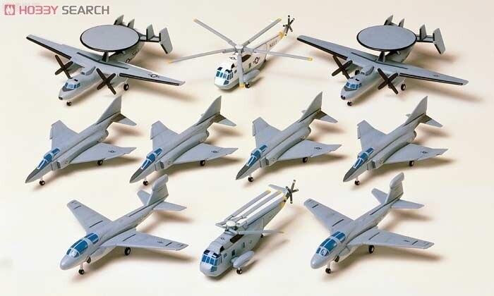 4 Set DIY Assemble 78009 1/350 U.S. Navy fighter Model ...