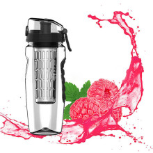 1L Portable water bottle Tritan Drinkware Bottle Fruit Infuser Juice Shaker travel Sport Water detox