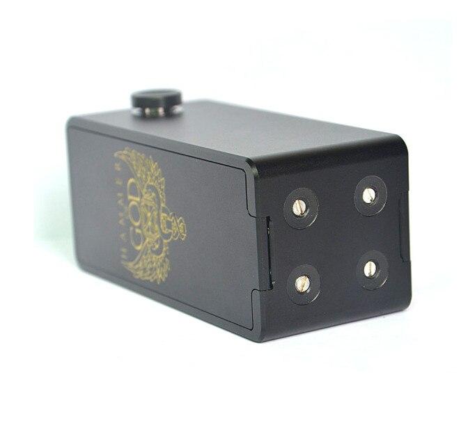 E Cigarette Marteau de Dieu V2 Boîte Mod Puissante Mécanique Mod pour Mech RDA RTA RBA RDTA Atomiseurs Cigarette Électronique vaporisateur Kit - 3