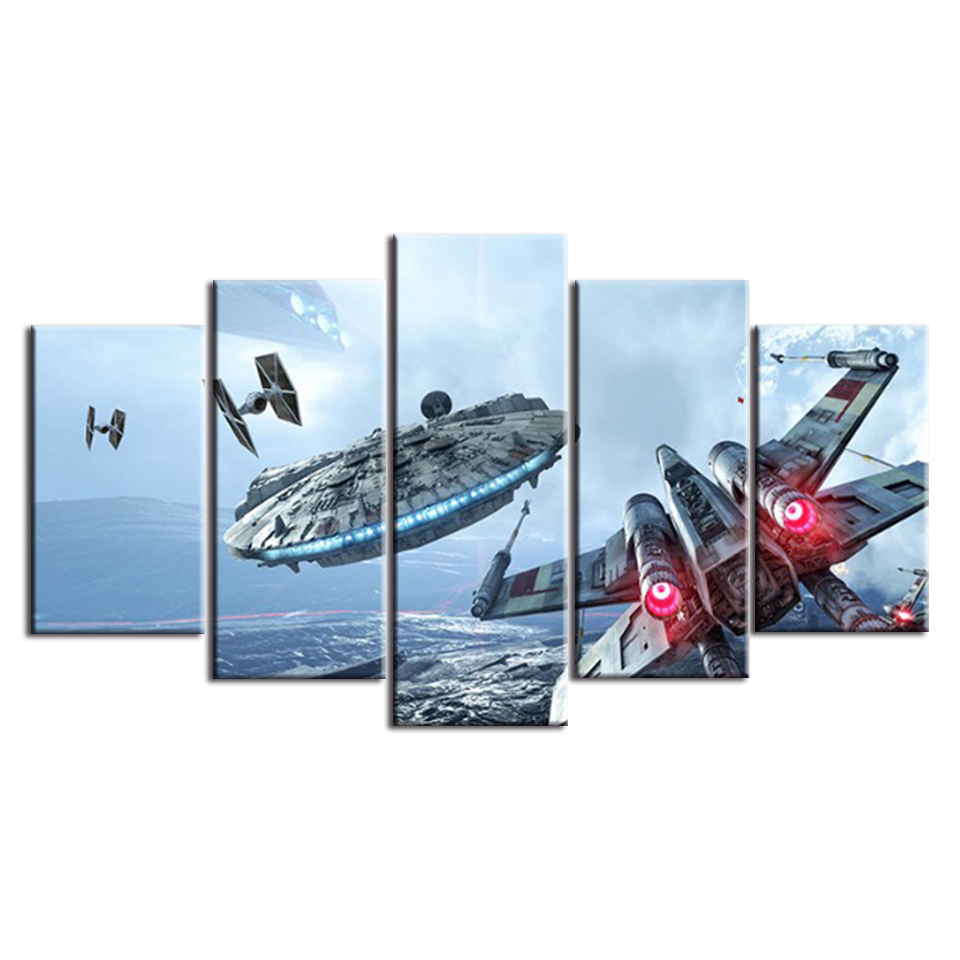 5 Pieces Star Wars Movie Posters 25