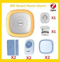 DHL Free Shipping Smart home automation Zigbee HA 1.2 smart gateway hub Smart home kit