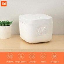 جهاز طبخ الأرز الأصلي من شاومي Mijia يعمل بالكهرباء 1.6L جهاز طبخ صغير للمطبخ جهاز طبخ الأرز الصغير جهاز ذكي لعرض موعد LED