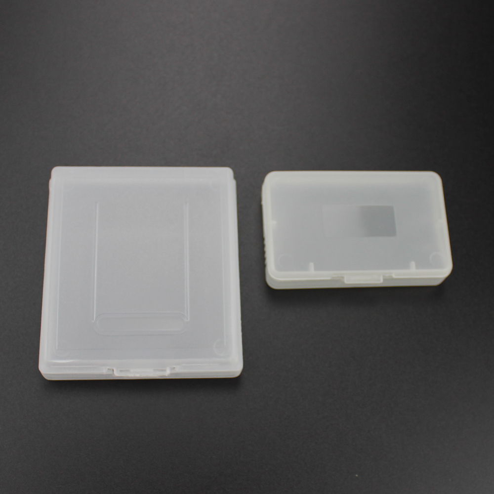 20pcs clear plastic <font><b>cases</b></font> for Nintendo GBC GBP & For gameboy Advance GBA SP for <font><b>GBM</b></font> GBA Games Card Cartridge box image