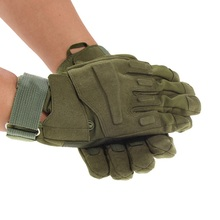 Cycling Gloves Army Combat Training Tactical Gloves Men Military Police Soldier Paintball Outdoor Mittens Full Finger