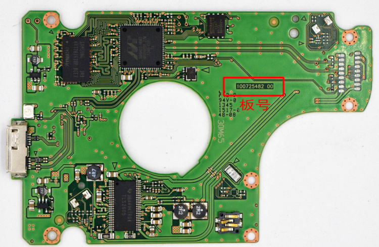 Hard Drive Parts PCB Printed Circuit Board 100725482 M8U REV07 R00 For USB3.0 Hdd Data Recovery SAMSUNG ST1000LM025