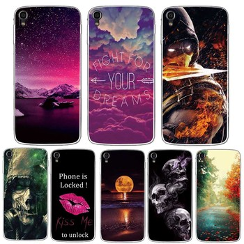 Case for Alcatel One Touch Idol 3 5.5 inch Case Soft Silicon 3d Printing TPU Back Phone Cover For Alcatel Idol 3 6045 6045Y Case image