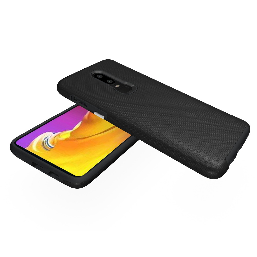 detailed look 7d8db bcd87 US $3.71 5% OFF|OnePlus 6 cases luxury shockproof tough defender dual layer  hybrid matte hard case for Oneplus6 heavy duty potection phone cover-in ...