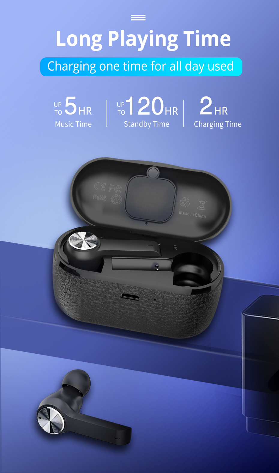 langsdom TWS bluetooth earphone for phone wireless  (1)
