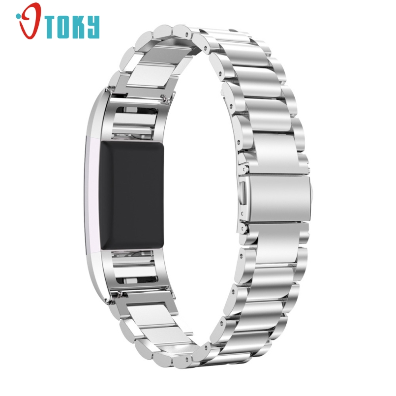 New Arrive Stainless Steel Watchband For <font><b>Fitbit</b></font> <font><b>Charge</b></font> 2 <font><b>HR</b></font> Band Bracelet Strap for <font><b>Fitbit</b></font> <font><b>Charge</b></font> 2 Wristband