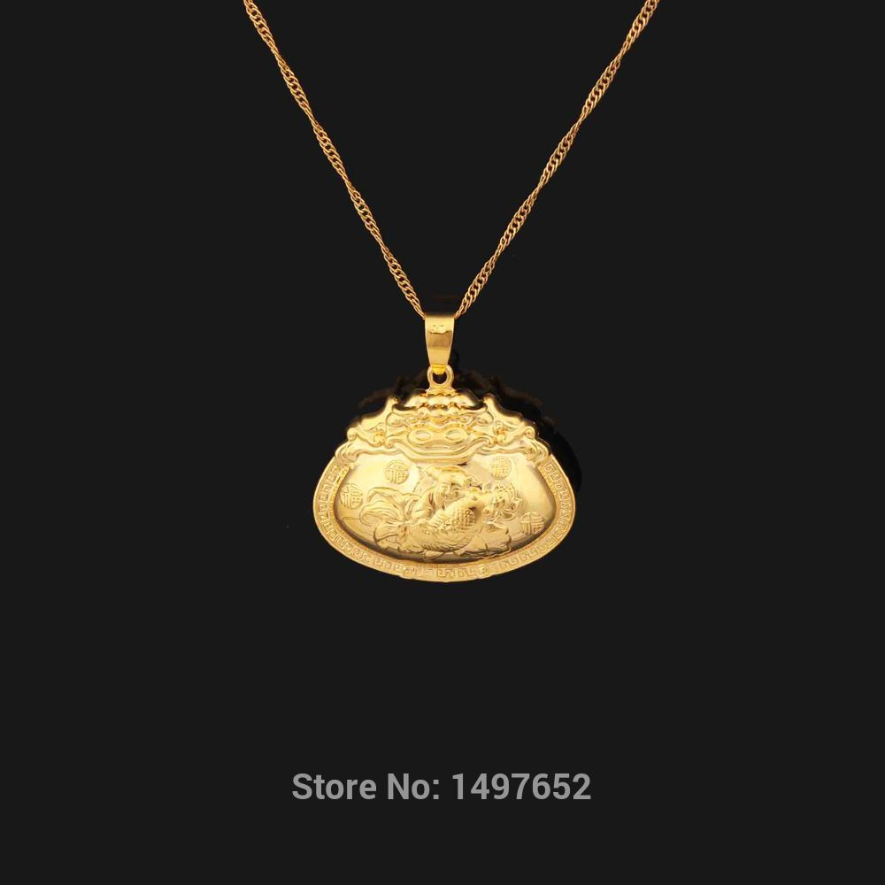 India Desigh Pendant for kids girls boy Gold Filled Pendant
