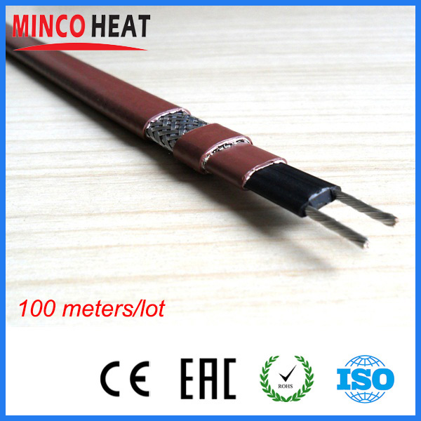 120V 240V 35W m 60W m best solution to prevent freezing self regulating antifreeze heating cable