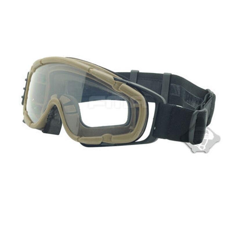 2018 nouveaux accessoires de casque FMA produits de plein air OK lunettes lunettes améliorées sable TB885 noir TB886