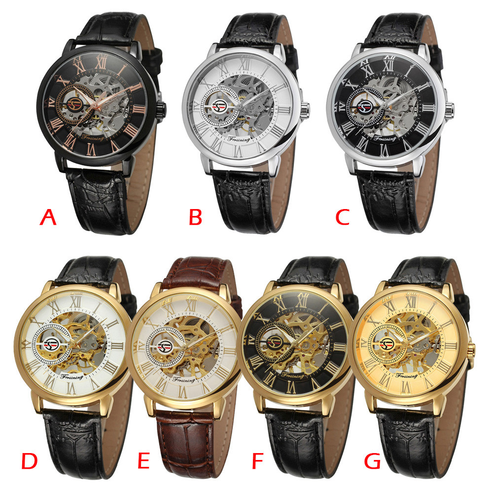 HTB1 JE1atfvK1RjSspfq6zzXFXaV Mens Watches Top Brand Luxury Mechanical Watch Splendid 3D Hollow Engraving Case Skeleton Dial Sport Watches Relogio Masculino