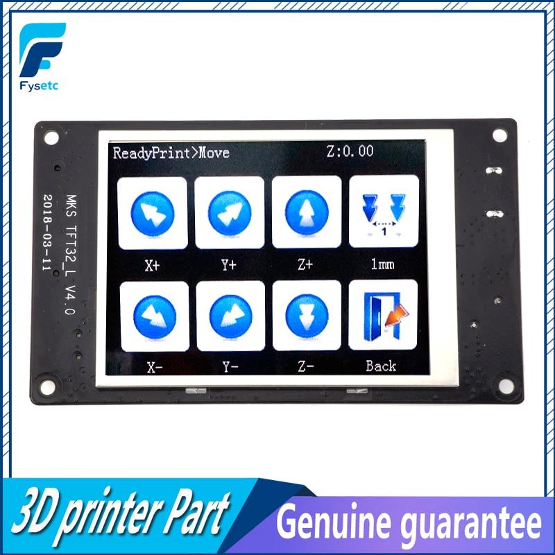 3D impresora MKS TFT32 controlador inteligente 3,2 V4.0 pantalla táctil apoyo APP/BT/Edición para MKS Smoothieboard
