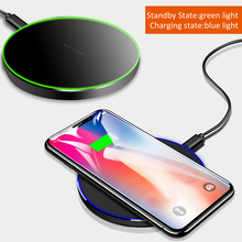 YILIZOMANA Qi Wireless Charger for iPhoneX XS/XS MAX  8 8 Plus For Samsung Note 8 Galaxy S9/8,S8/9 Plus,S7,S9,S6 Edge Charger смеситель для ванны kaiser trio 57022 1 бронза