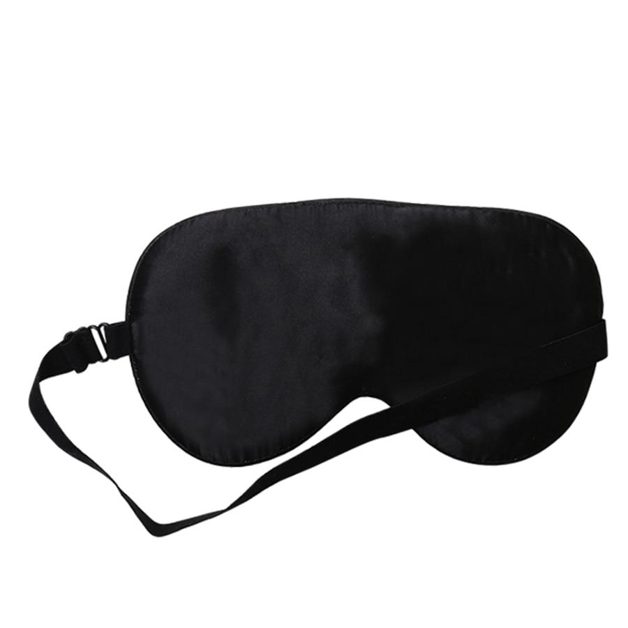 100% Natural Mulberry Silk Sleep Mask Blindfold Super Smooth Eye Mask Sleeping Aid Eyeshade Eye Cover Patch Bandage for Sleep 3
