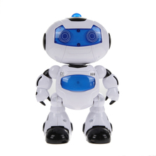 Baby Children RC Robot Toy Remote Control Musical Electronic Toy Walk Dance Lightenning Robot Toys
