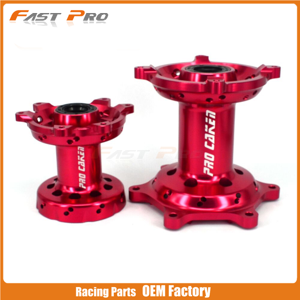 Motorcycle CNC Machined Front And Rear Wheel Hub For HONDA CR 125 250 CRF250R CRF450R CRF450X CRF250X CRF 250 450 R X 00 01 14