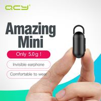 QCY Q12 Set Invisible Mini Earphone Business Wireless Headphone Bluetooth 4 1 Headset With Microphone For