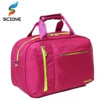 2017 High Quality Nylon Outdoor Male Sport Bag New Women Gym Shoulder Bag Traveling Storage Handbag