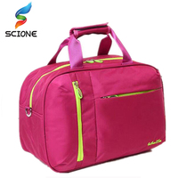 2017 High Quality Nylon Outdoor Male Sport Bag New Women Gym Shoulder Bag Traveling Storage Handbag