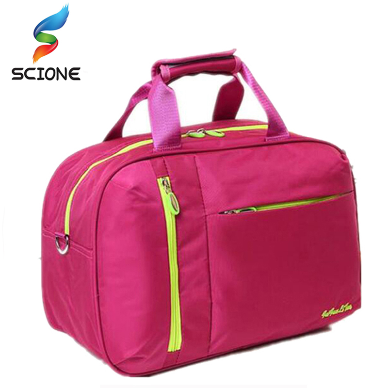2017 Top Quality Nylon Outdoor Male Sport Bag New Women Gym Shoulder Bag Traveling Storage Handbag For Men Fitness Sports Bag