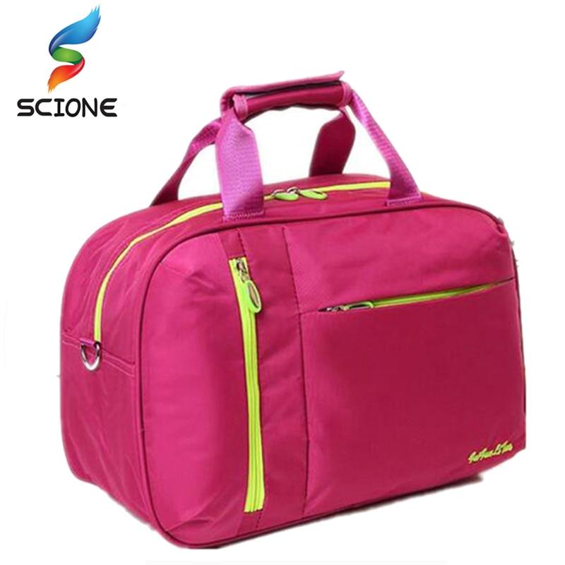 Top Quality Nylon Outdoor Male Sport Bag New Women Gym Shoulder Bag Traveling Storage Handbag For Men Fitness Sports Bag