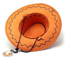 One piece Portgas.D. Ace Orange Cowboy Anime Hat
