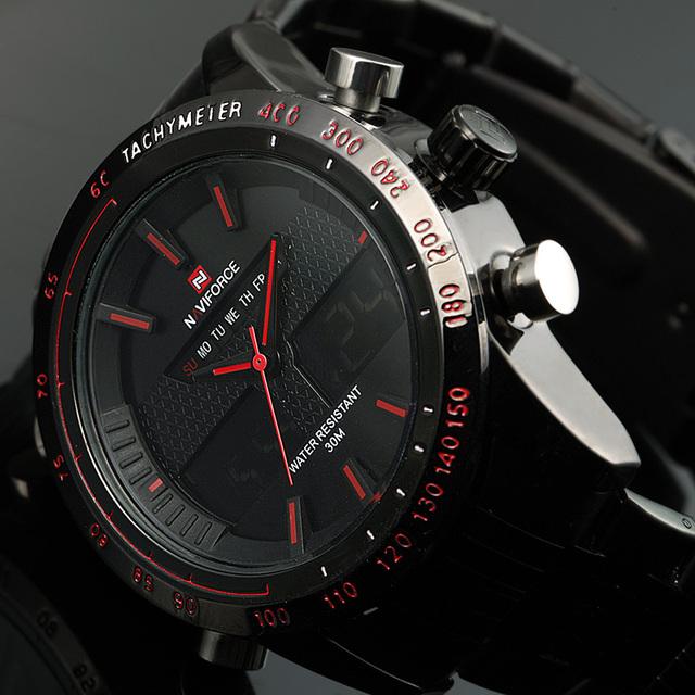 Mens Watches Top Brand Luxury Quartz Wrist Watches Men Full Steel Wristwatches Relogio Masculino Montre Homme Reloj 2015