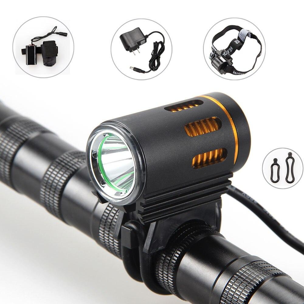 3000 люмен XM-L2 светодиодный голову перед велосипед свет фара + 6400 мАч Батарея Pack + ...