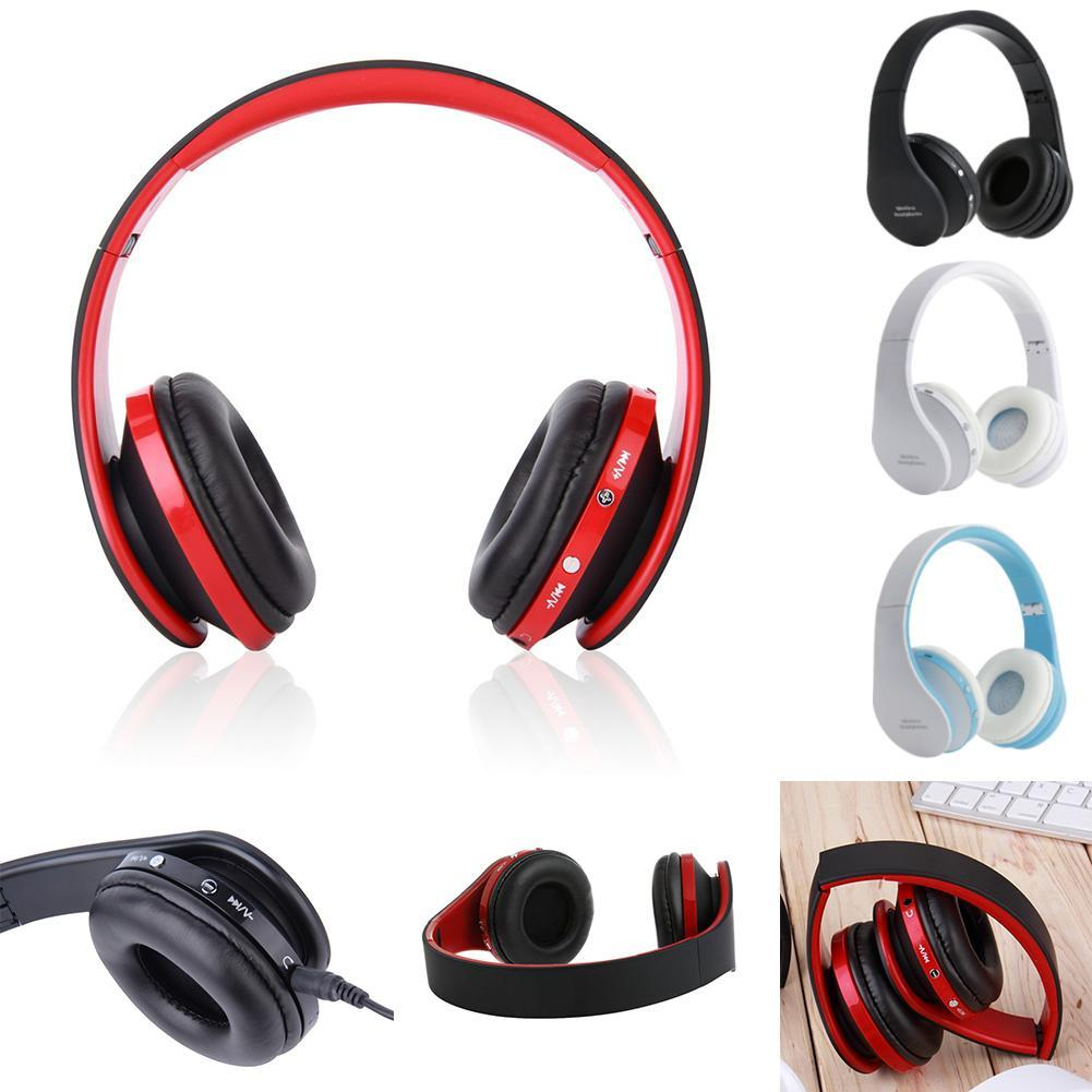 2017 New Wireless Bluetooth Foldable Headset Stereo Headphone Earphone Mic for iPhone Android Smartphones PC 4 colors A273