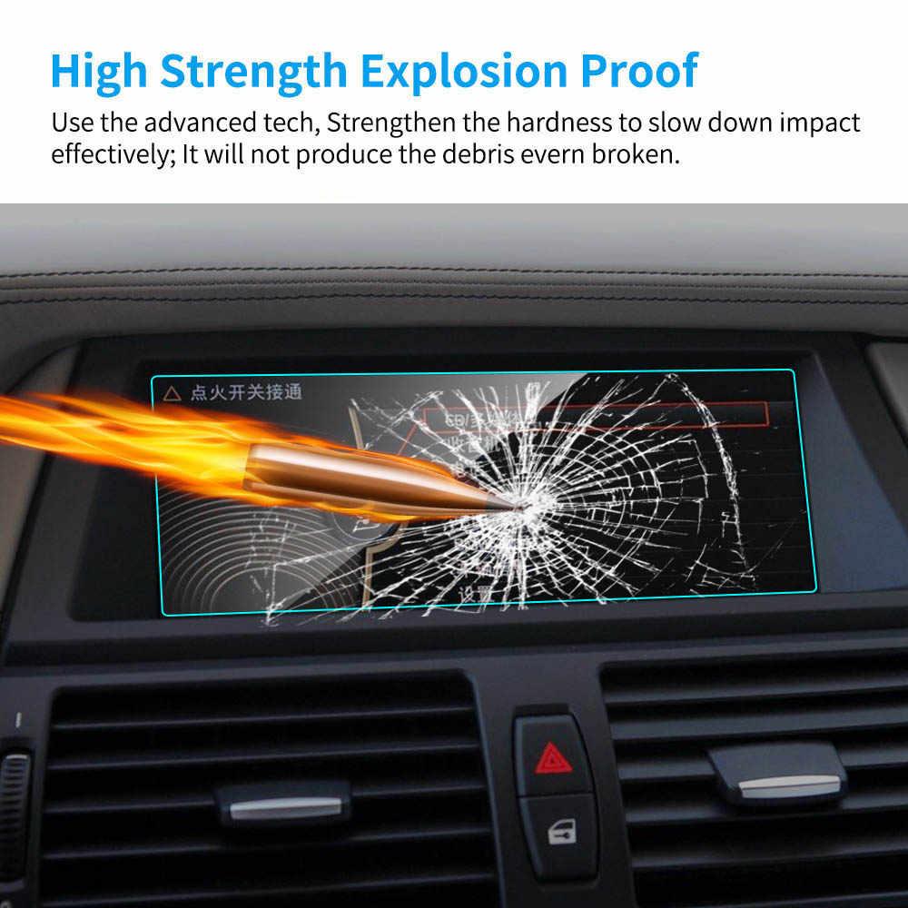 Protezione dello schermo di navigazione GPS per auto da 8.8 pollici per BMW E70 E71 X5 X6 Car HD Clear LCD pellicola protettiva in vetro temperato per schermo resistente