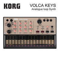 Korg Volca Keys Analog Synthesizer Polyphonic Analog Sound Engine And Loop Sequencer