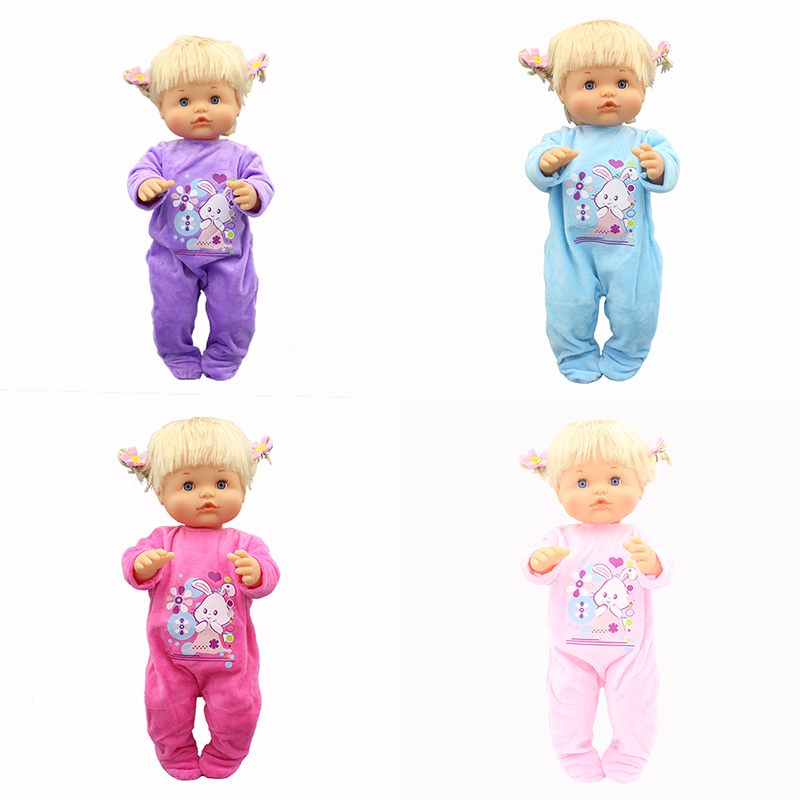 4Color Jumpsuits Doll Clothes Fit 42cm Nenuco Doll Nenuco Su Hermanita Doll Accessories