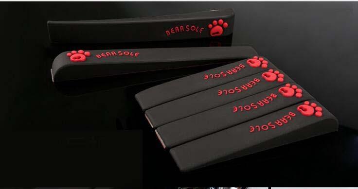 6pc Car Anti-Collision Strip Bumper Protector Cover Silica Gel Anti Scratch Bar Car Door Guard Protector стоимость