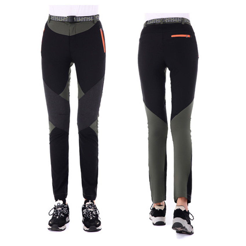 Mountainskin Summer Womens Quick Dry Hiking Sports UV Pants Breathable Elastic Outdoor Trekking Camping Fishing Trousers VB054
