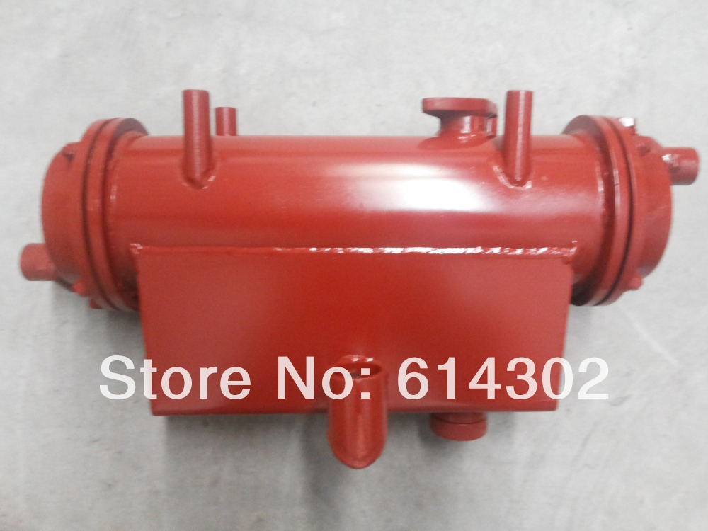 sea and fresh water cooled and heat exchanger  for weifang 495/K4100  marine engine/boat engine parts water pump for 495 4100 weifang diesel engine parts