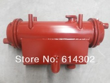 sea and fresh water cooler for weifang 495/K4100 R4105 R6105 marine engine spare parts water pump for 495 4100 r4105 r6105 diesel engine spare parts