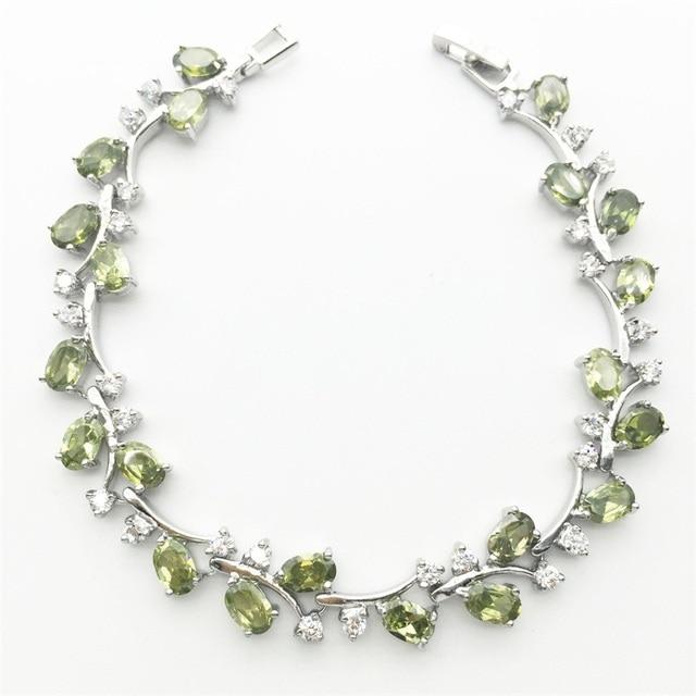 Tree Leaf Sterling Silver...