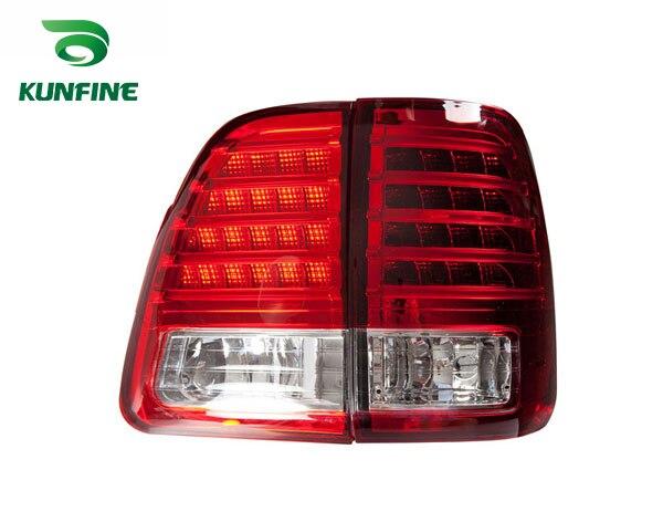 Пара KUNFINE автомобиля задний фонарь для Toyota земля crusier 2000-2007 светодиодный стоп-сигнал с поворотом световой сигнал