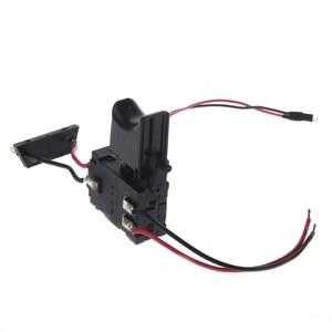 Image 3 - Электрическая дрель, пылезащитный контроль скорости, пусковой переключатель, переключатель постоянного тока 7,2 24 В, переключатель беспроводной дрели