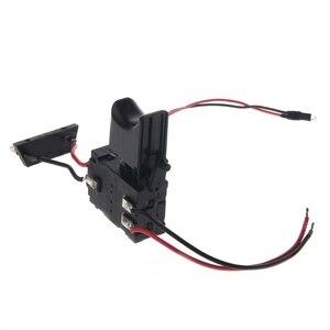 Image 3 - 電気ドリル防塵速度制御プッシュボタントリガーパワーツール dc 7.2 24 v コードレスドリルスイッチ