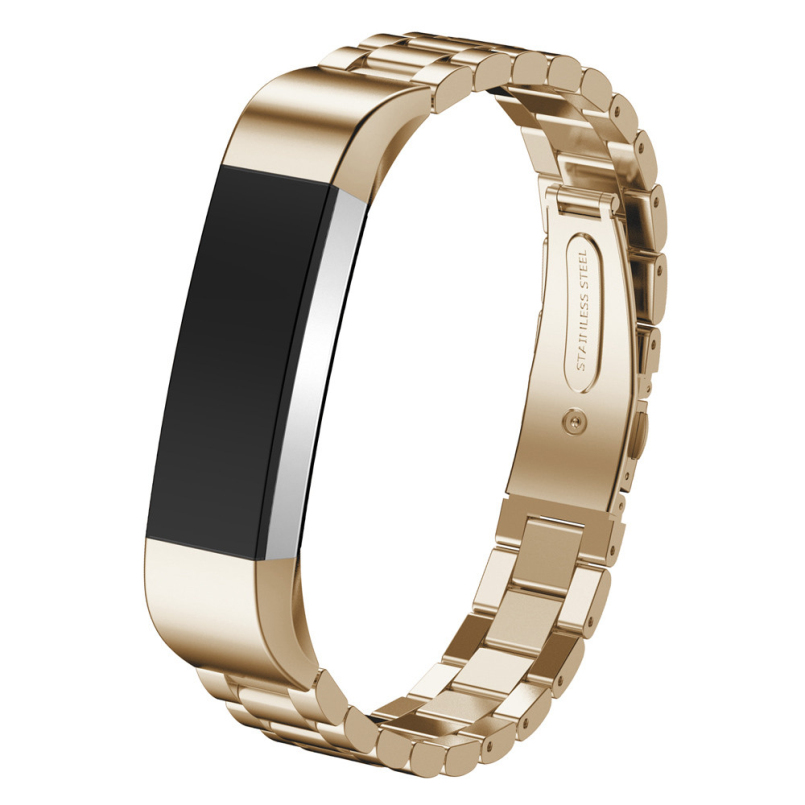 New Arrive Gold Black Sliver Milanese Stainless Steel Watch Band Strap Bracelet For Fitbit Alta Tracker Watch Accessories
