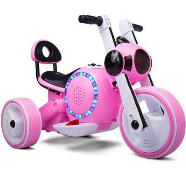 Venta caliente respetuoso del Medio ambiente y Seguro de Tres Ruedas Niños Motocicleta Eléctrica Niño Juguete Paseo En El Coche de 3 Colores envío Gratis