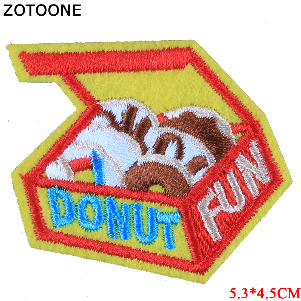 ZOTOONE Planet Animal Fox Patches Diy Stickers Iron on Clothes Heat Transfer Applique Embroidered Applications Cloth Fabric G in Patches from Home Garden