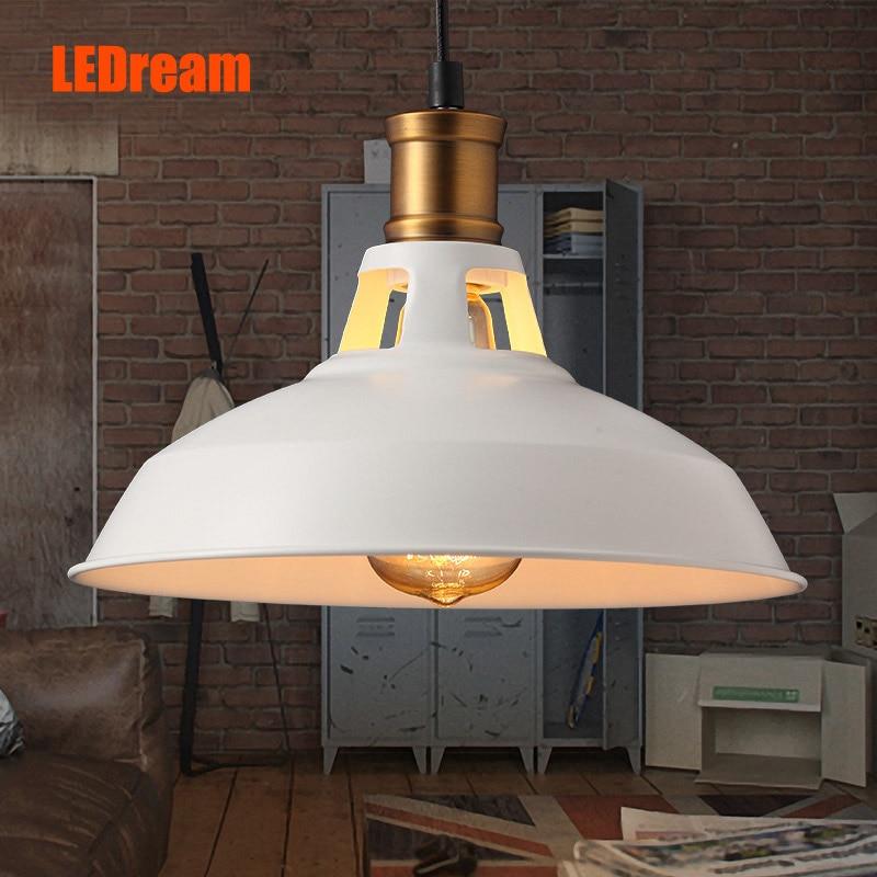 ФОТО LEDream Creative loft warehouse industry wind restoring ancient American country single head droplight character art lamp shade