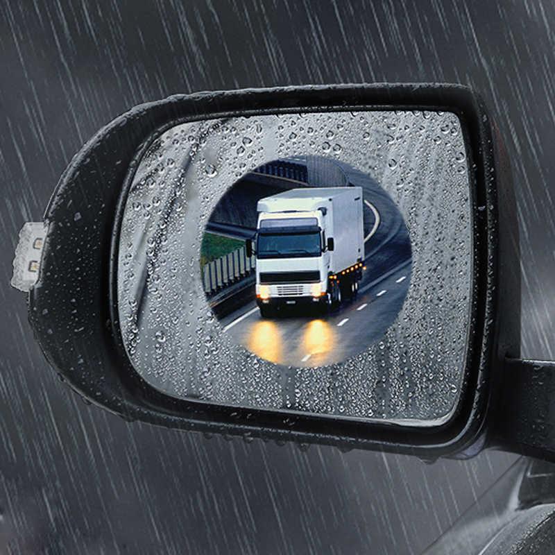 Yağmur geçirmez Araba dikiz aynası Su Geçirmez Anti Sis Yağmur Geçirmez etiket Için Peugeot 307 206 308 407 207 406 208 508 301 2008 5008