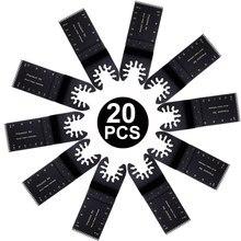 5/10/20 pcs 35mm Houtbewerking Universele HCS Oscillerende Multitool Zaagbladen voor Metaal Hout Snijden cutter voor Power Tools